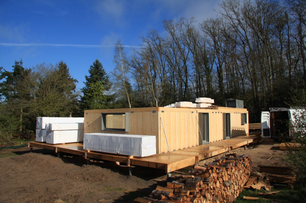 le kit maison bois BBC homelib V2